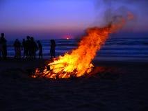 na plaży 2 Korfu Obraz Royalty Free