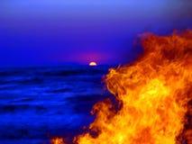 na plaży 3 Korfu Zdjęcie Stock