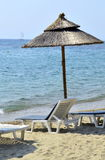 Na plaży Zdjęcia Stock