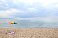 Na plaży Zdjęcie Royalty Free