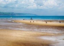 Na plaży Obrazy Royalty Free