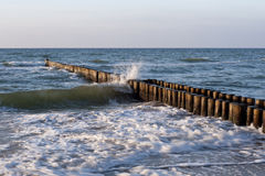 Na plaży Ahrenshoop Fotografia Stock