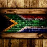 na południe od afrykanów bandery obrazy stock