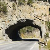 na południe od tunelu dakota. zdjęcie royalty free