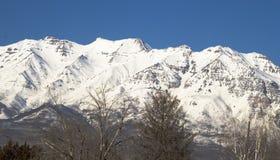na południowy zachód od timpanogos góry Obrazy Stock
