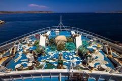 Na pokładzie Zdjęcie Royalty Free
