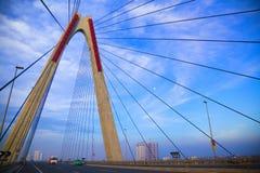 Na ponte Foto de Stock