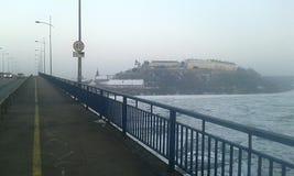 Na ponte Fotografia de Stock