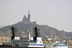 Na porcie Marseille Obraz Royalty Free