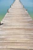 Na Pra Lan Pier on Koh Samui island, Thailand Stock Photos