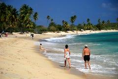 Na praia Imagem de Stock Royalty Free