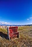 Na praia Fotos de Stock
