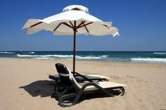 Na praia. Imagens de Stock Royalty Free