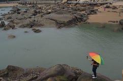 Praia Foto de Stock