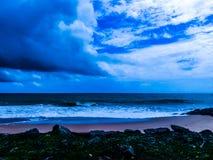 Na praia do unawatuna Imagens de Stock Royalty Free