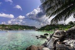 Na praia no mar do Sul da China Fotos de Stock Royalty Free