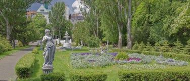 Na primavera parque de Gorky, Rostov-On-Don, Rússia imagem de stock royalty free