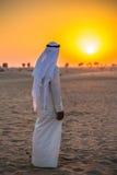 na pustynię arabską Fotografia Stock