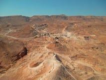 na pustynię arabską Obrazy Stock