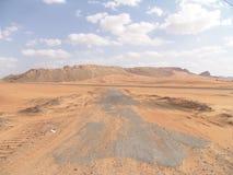 na pustynię arabską Obraz Royalty Free
