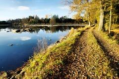Na represa Fotografia de Stock