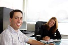 Na reunião Fotografia de Stock