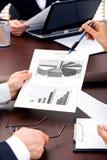 Na reunião Imagem de Stock