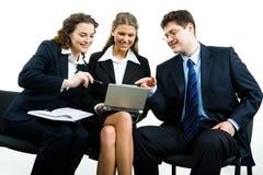 Na reunião Imagens de Stock