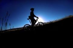 na rowerze. zdjęcia royalty free