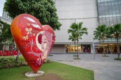 Na rua principal, Fort Bonifacio Fotos de Stock