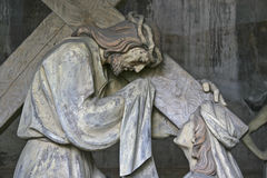 Na Sacro Monte Calvario Obrazy Stock