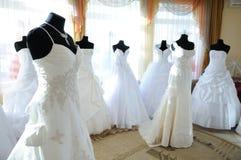 Na sala de exposições do casamento Fotografia de Stock Royalty Free