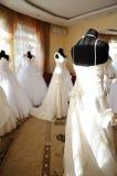 Na sala de exposições do casamento Fotografia de Stock