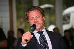 Na scenie śpiewa Vasily Gerello G â€' sowiecki i rosyjski opera piosenkarz (baryton) Obraz Stock