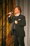 Na scenie śpiewa Vasily Gerello G â€' sowiecki i rosyjski opera piosenkarz (baryton) Obrazy Stock