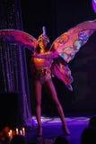 Na scenie w spektakularnym przedstawieniu Najważniejszym muzykalny theatre Zdjęcie Stock