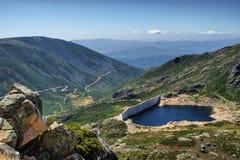Na Serra da Estrela de Covao de barrage Images libres de droits