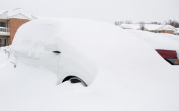 Na sneeuwonweer Stock Foto's