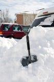Na sneeuwonweer Royalty-vrije Stock Foto's