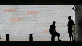 Na sombra Fotografia de Stock