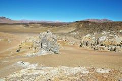 Na sposobie Salar De Tara, Chile obrazy stock