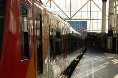 na stacji Waterloo Zdjęcia Royalty Free