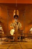 Na statku sterowniczy żebra Obrazy Royalty Free