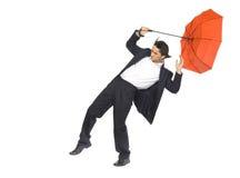Na tempestade do negócio Fotos de Stock