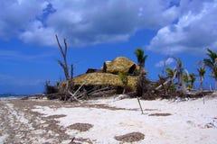 Na tropische orkaan Royalty-vrije Stock Afbeelding