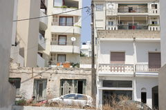 Na ulicach Agios Nikolaos, Crete Zdjęcie Stock