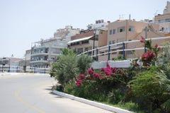Na ulicach Agios Nikolaos, Crete Fotografia Stock