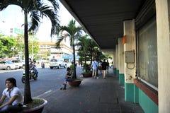 Na ulicach Ho Chi Minh, Saigon Wietnam Zdjęcie Stock