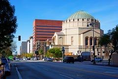 Na ulicach Los Angeles Świątynia na Wilshire bulwarze Fotografia Royalty Free