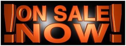 Na venda agora Fotografia de Stock